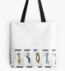 Clue Weapons: Choose Wisely. Tote Bag