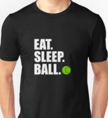 Eat Sleep Ball - Tennis T-Shirt