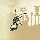The Good Knight Scarab by TheIsidoreTarot