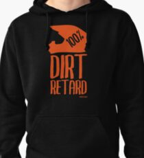 Sudadera con capucha Dirt Retard Dirt Bike Orange