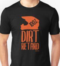 Dirt Retard Dirt Bike Orange Unisex T-Shirt