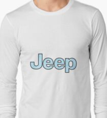 Jeep - Baby Blue Long Sleeve T-Shirt