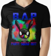 B.A.P Party Baby Boom 2017 Men's V-Neck T-Shirt