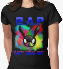 B.A.P Party Baby Boom 2017 Women's Fitted T-Shirt