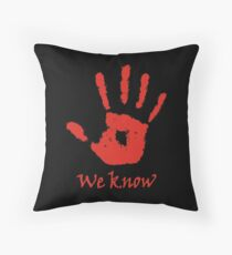 Dark Brotherhood Throw Pillow
