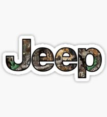 Jeep - Camo Sticker