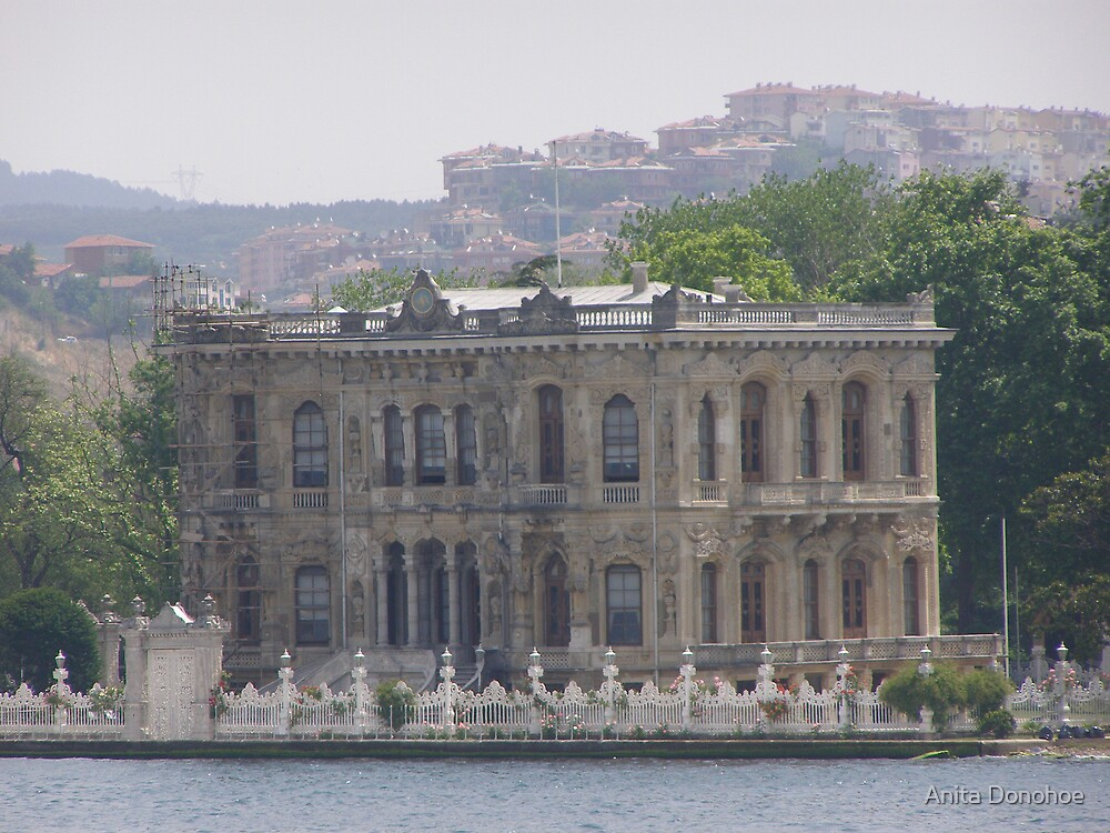 Palace on the Bosporus by Anita Donohoe