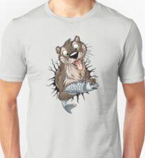 STUCK Otter (black cracks) T-Shirt