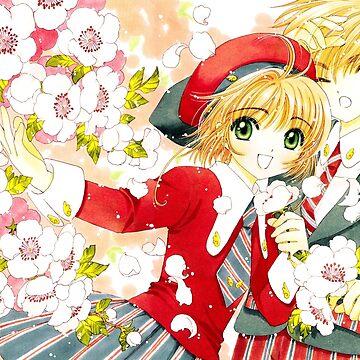 Cardcaptor Sakura - Syaoran & Sakura by sylnae