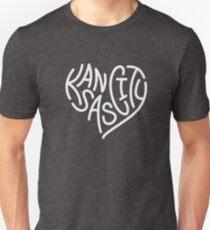 287de520bda9 LOVE KC (letters only white) Unisex T-Shirt