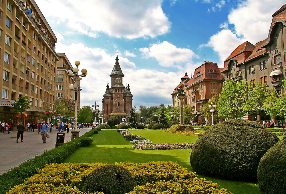 Timisoara in colors III by GabiB