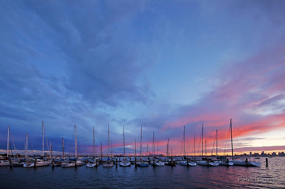 Williamstown dawn by Peter Hammer