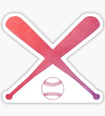 Softball Multicolored Sticker