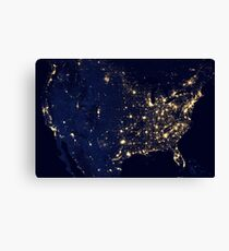 USA space Canvas Print