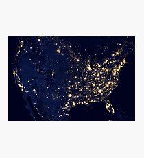 USA spaciale Photographic Print