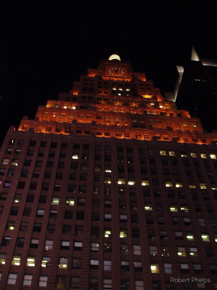 Paramount Building - NYC by Robert Phelps