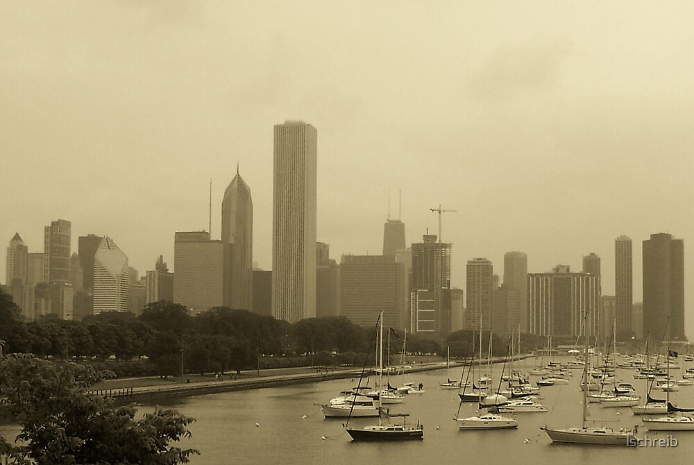 Boats and Buildings by lschreib
