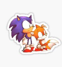 Sonic N' Tails Sticker