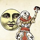 The Fool and the Moon by TheIsidoreTarot