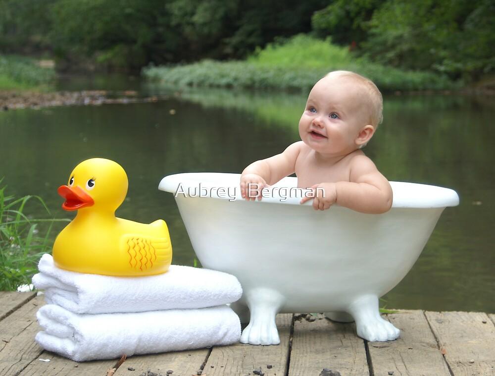 Outside bath by Aubrey  Bergman