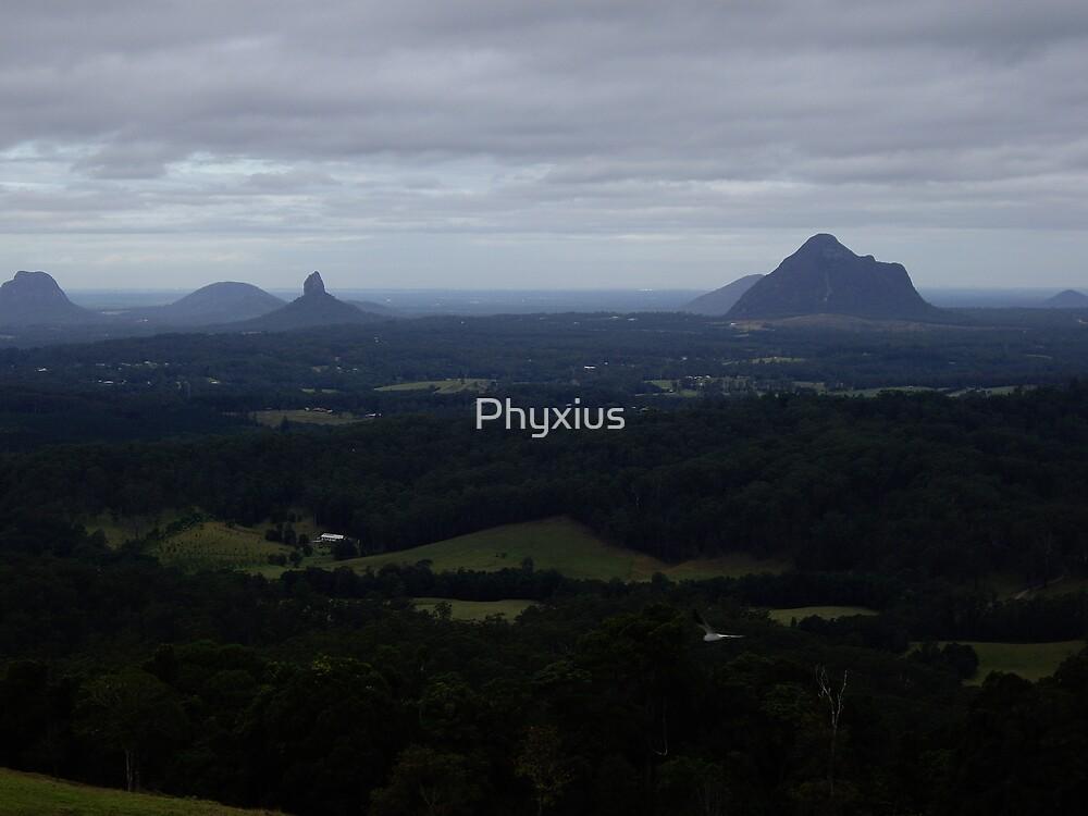 Magic Mountains by Phyxius