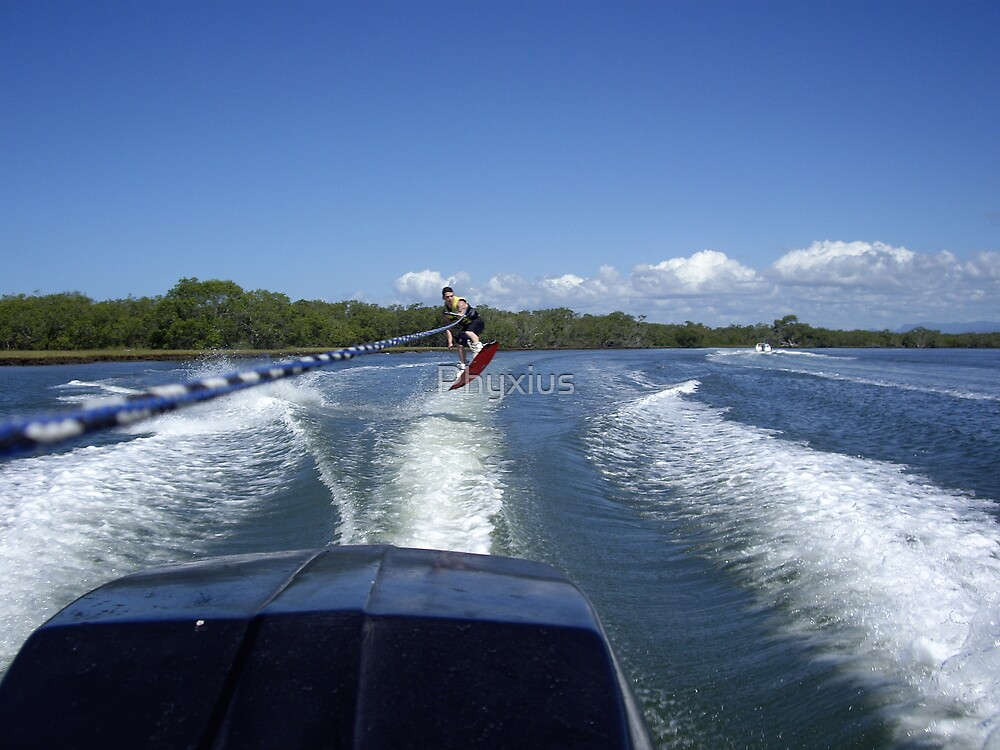 Wakeboarding by Phyxius