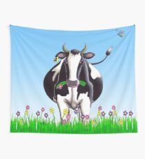 Dairy Cow Wall Tapestry