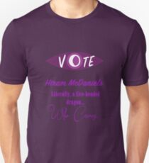 Vote (Hiram McDaniels) Unisex T-Shirt