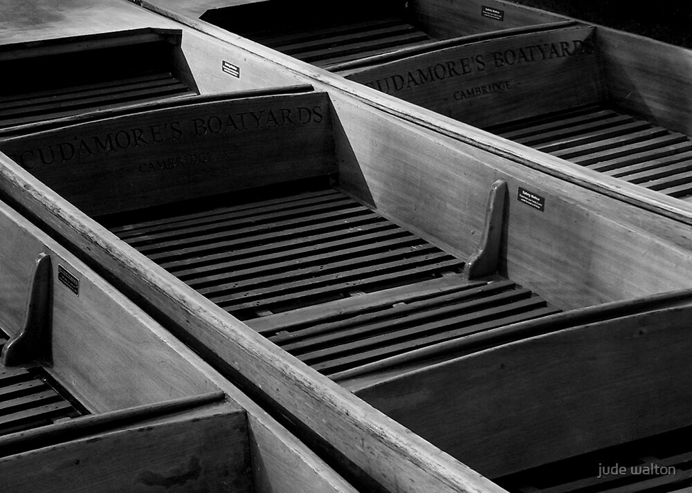 Scudamore's Boats, Cambridge by jude walton