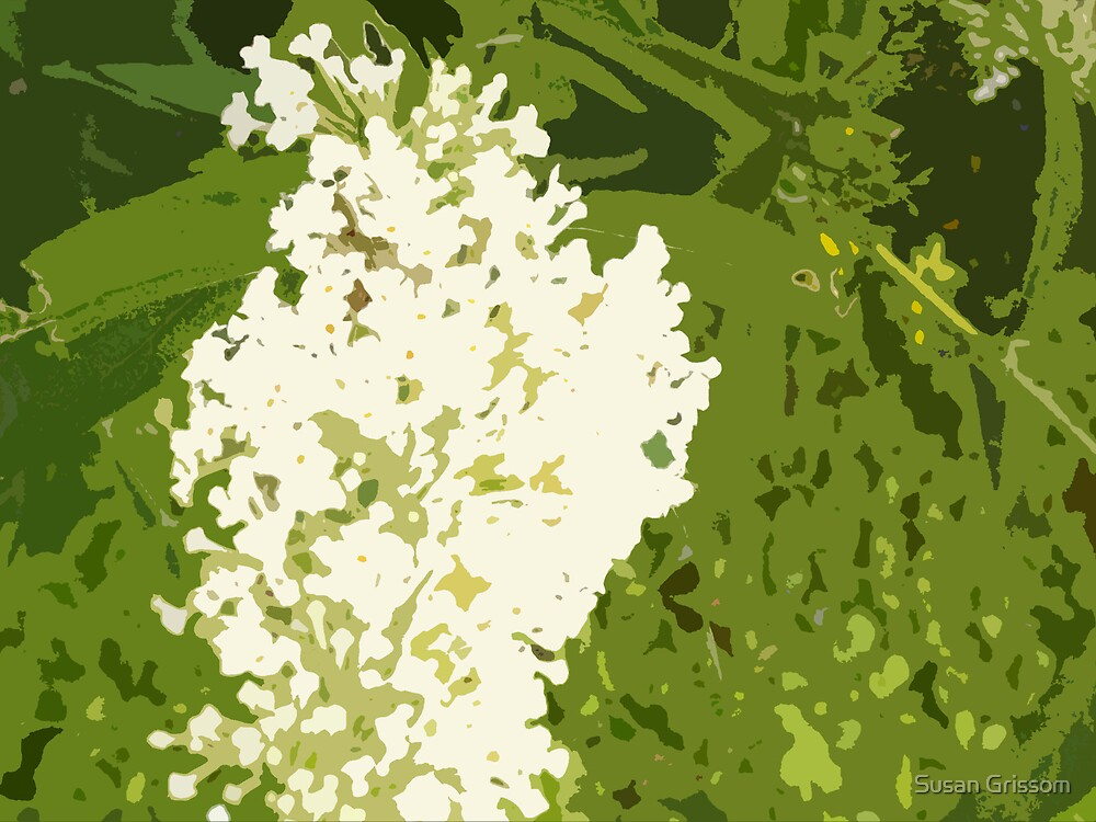 Garden Blooms by Susan Grissom
