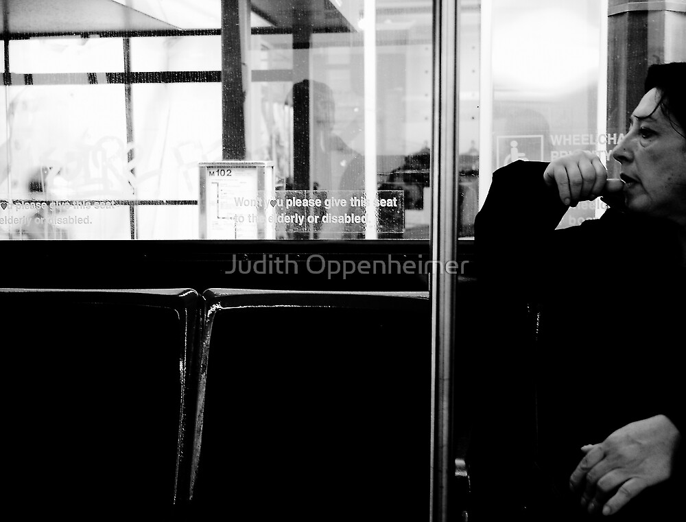 Bus Lady by Judith Oppenheimer