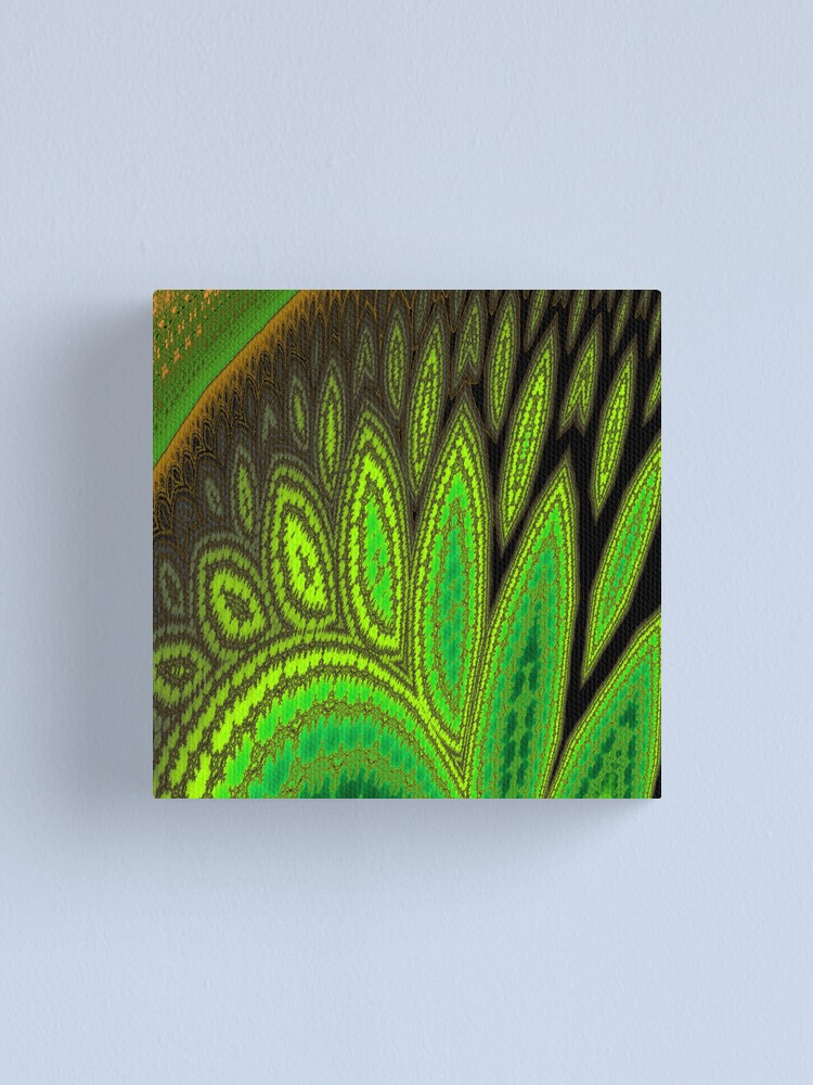 Alternate view of Drifting Leaves Canvas Print