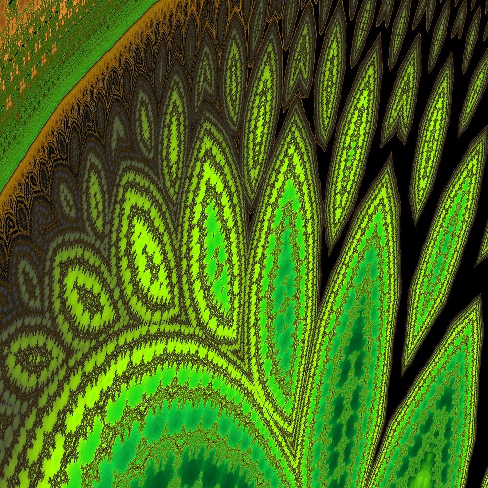 Drifting Leaves by Owen Kaluza