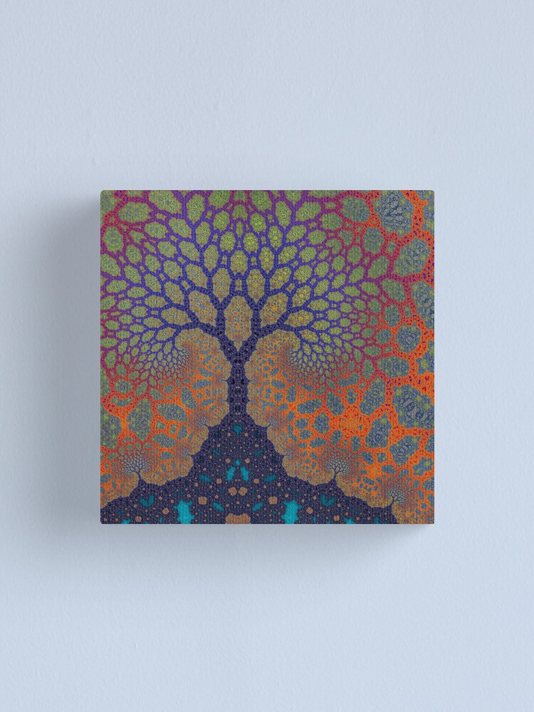 Alternate view of Inner Life of a Tree Canvas Print