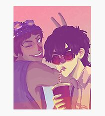 [Klance] 80's Brave Cats Photographic Print