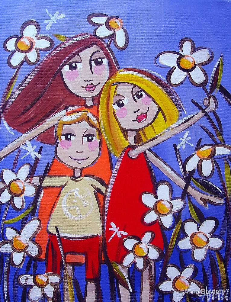 The Three Children by Anna Bartlett