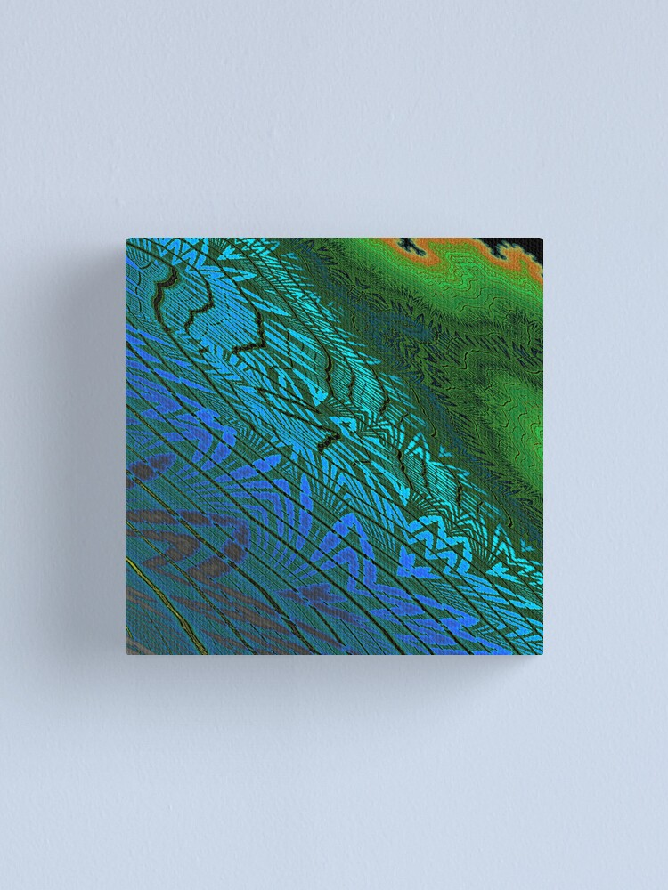 Alternate view of Floodplain Canvas Print