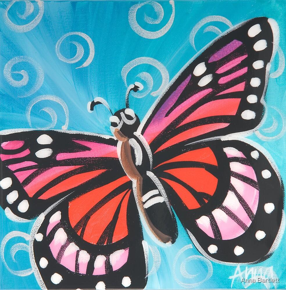Butterfly 6 by Anna Bartlett