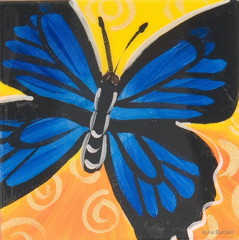 Butterfly 8 by Anna Bartlett
