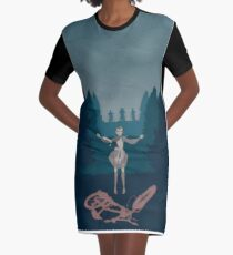 stanger things2 Graphic T-Shirt Dress