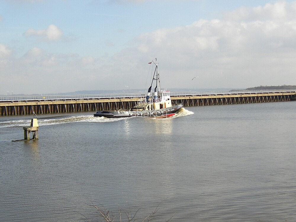 Tug on Manchester Ship Canal by shakey