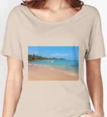 Indian ocean around Mirissa Women's Relaxed Fit T-Shirt