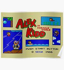 Alex Kidd Miracle World Poster