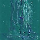 Horse Drinking Magic by Stephanie Small