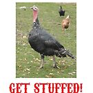 Happy Christmas? Get Stuffed! Cynical Turkey by letsrock