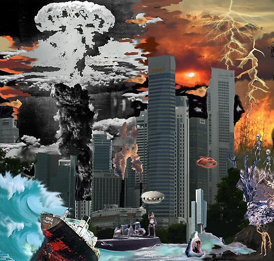 """my vision of """"Infinite Future Chaos"""". by Ruby Coupe"""