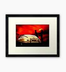 JUST THE TWO OF US Framed Print