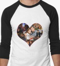 Caskett Always Heart Men's Baseball ¾ T-Shirt