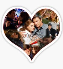 Caskett Always Heart Sticker