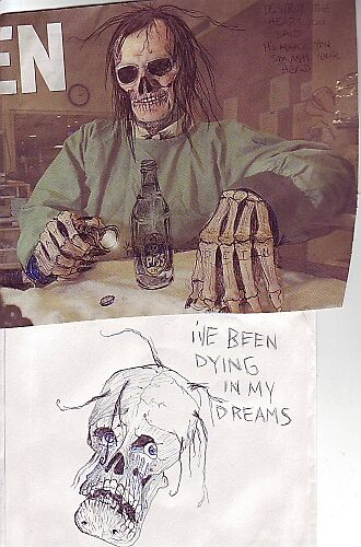 Piss/I'm Dying In My Dreams by grubbanax